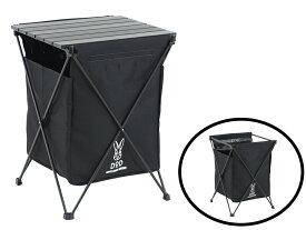 ステルスエックス ゴミを見えなくするゴミ箱(ブラックGM1-450 [GM1450]最大6種類のごみの分別可能上部はテーブルとして使用可能ドッペルギャンガーアウトドアDOPPELGANGER OUTDOOR DOD