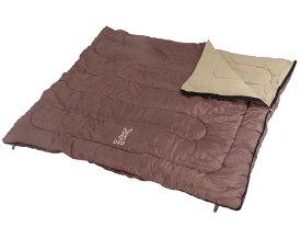 わがやのシェラフ 封筒型4人用 寝袋 ブラウン W230cm X D200cmのビッグな シェラフ セパレート使用も可能。S4-511 S4511FAMILY's SLEEPING BAGDOD ドッペルギャンガーアウトドア