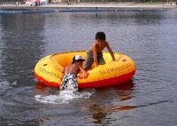 インフレータブルトランポリンDTR-01[DTR01]トランポリンにプール・ボートと1台3役の優れもの!ドッペルギャンガーアウトドアDOPPELGANGEROUTDOOR