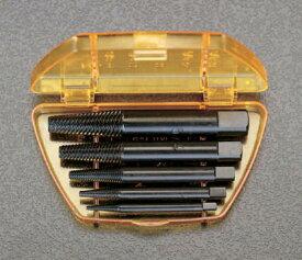 (M3-M18)用スクリューエキストラクターセット 5本組潰れたり折れたりしたネジ、ボルトの取り出しに。EA584BA-1 [EA584BA1]ESCO(エスコ)