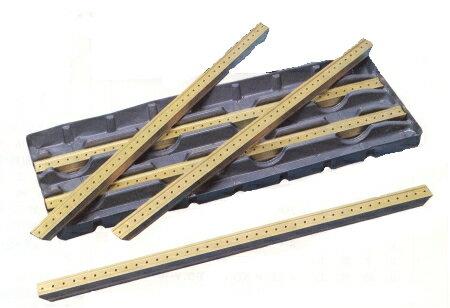 Tスロットチップカバー(溝巾18mm用)(金色450mmX5本入り)18B 光精機