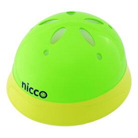 子供用自転車ヘルメット乳幼児用ヘルメット(頭周47〜52cm)nicco(ニコ) ベビーヘルメットカラー:ライムグリーン参考年齢12ヶ月〜3歳位KH002LYGクミカ工業 日本製 kumika
