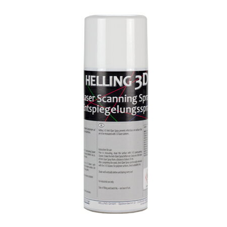 Helling 3D Anti Glare Scan Spray 1.0lbs(420ml)ヘリング 3D AntiGlareスプレー3Dレーザー、スキャニング用反射防止剤3D Scan Spray Laser Design