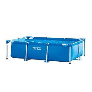 INTEX インテックス 28271 2.6M X 1.6M プール 大型 家庭用 フレームプール レグタングラープール