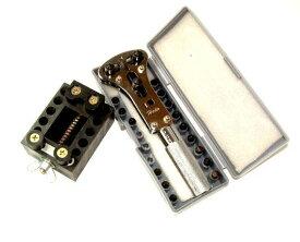 【売れてます!!最強コンビ!!】 時計工具最強二点セット 時計電池交換防水タイプ裏蓋はずしこれなら出来ます簡単に!!