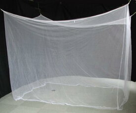 ■送料無料■安眠で健康生活!!かや■蚊帳250cmx150cm■約3畳用
