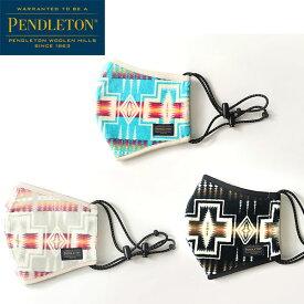 【PENDLETON(ペンドルトン)】pile fabric mask パイルマスク ネイティブ柄マスク HARDING