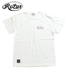 ※メール便配送※【ROTAR(ローター)】STREET MANNER ストリートマナー Tシャツ 半袖Tシャツ Tee Shirts プリントTシャツ 日本製
