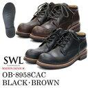 SWL【OB-8958CAC】スローウェアライオン/SLOW WEAR LION ブーツメンズ/メンズブーツ/ワークブーツ 黒/茶/ブラック/ブ…