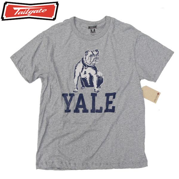 【TAILGATE】(テイルゲート) YALE S/S プリント Tシャツ SAFARI LOUNGE サファリ ラウンジ 2nd セカンド
