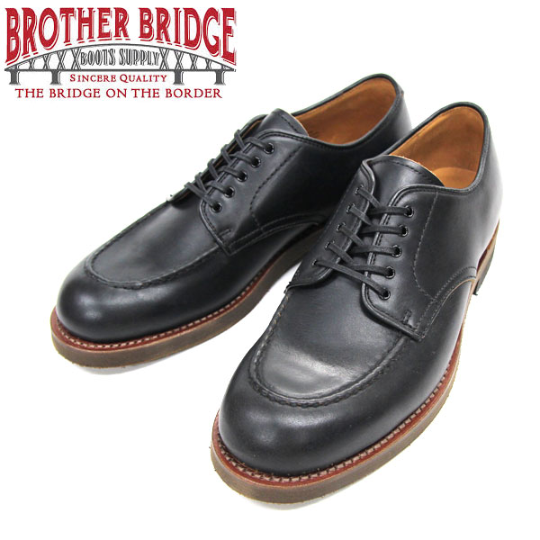 【BROTHER BRIDGE】(ブラザーブリッジ)JAMES #BBB-D007 BLACK HORWEEN CHROMEXCEL (ホーウィン社 クロムエクセルレザー)