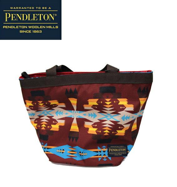 クリアランスセール SALE【PENDLETON】(ペンドルトン) MINI TOTE ネイティブ柄ミニトート エコバッグ RED