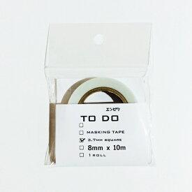 icco nico エンピツTODOマステ 3.7mmスクエア