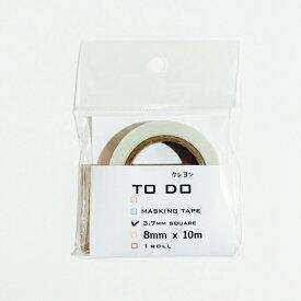 icco nico クレヨンTODOマステ 3.7mmスクエア