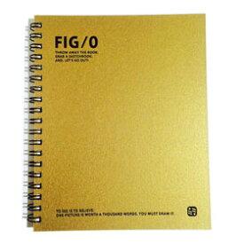 FIG/0プレミアム スケッチブック GD(ゴールド)