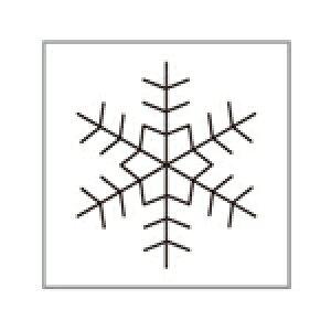 オスコラボ 冬の風物詩はんこ F_F007
