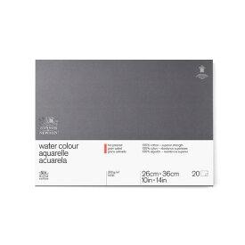 ウインザー&ニュートン プロフェッショナル水彩紙ブロック 300g 細目 26X36cm