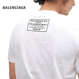 BALENCIAGA バレンシアガ 半袖 Tシャツ メンズ レディース ロゴ クルーネック 白 黒 ユニセックス シンプル