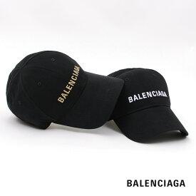【2020秋冬 新色入荷】BALENCIAGA バレンシアガ cap 帽子 黒 black ロゴ ベースボール キャップ メンズ レディース ユニセックス 新ロゴ L-58 L-59