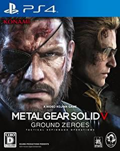 【中古】METAL GEAR SOLID V GROUND ZEROES PS4 VF001-J1 メタルギアソリッド5 グランドゼロズ
