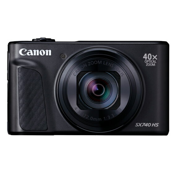 キヤノン CANON デジタルカメラ PowerShot SX740 HS(ブラック)