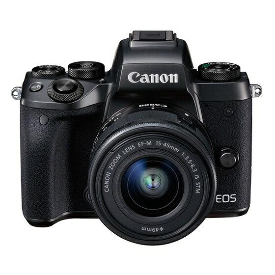 【新品】Canon キヤノン EOS M5・EF-M15-45 IS STMレンズキット