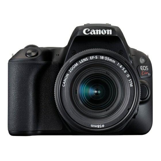 【新品】Canon キヤノン EOS Kiss X9(ブラック)・EF-S18-55 IS STM レンズキット