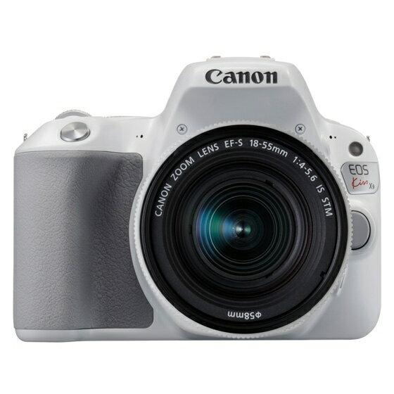 【新品】Canon キヤノン EOS Kiss X9(ホワイト)・EF-S18-55 IS STM レンズキット