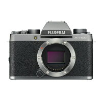 FUJIFILM フジフイルム X-T100 ボディのみ(レンズ別売り)ダークシルバー