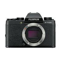 FUJIFILM フジフイルム X-T100 ボディのみ(レンズ別売り)ブラック