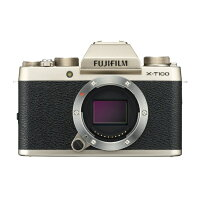 FUJIFILM フジフイルム X-T100 ボディのみ(レンズ別売り)シャンパンゴールド