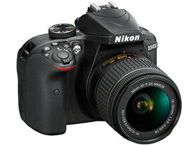 ニコン D3400 18-55 VR レンズキット ブラック 一眼レフカメラ