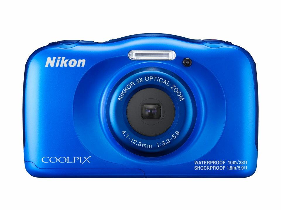 ニコン NIKON COOLPIX W100 ブルー(クールピクス)