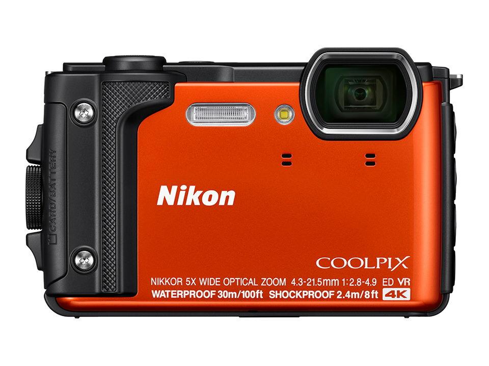 ニコン NIKON COOLPIX W300 オレンジ(クールピクス)