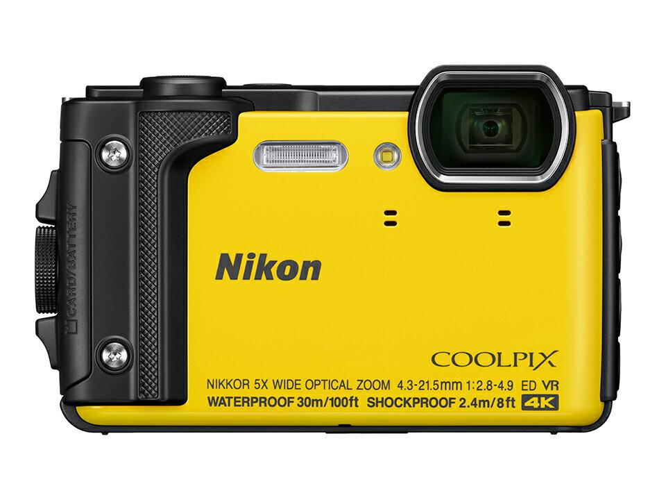 ニコン NIKON COOLPIX W300 イエロー(クールピクス)