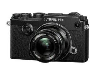 OLYMPUS オリンパス PEN-F・12mm F2.0 レンズキット(ブラック)