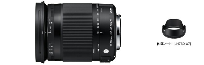 シグマ SIGMA Contemporary 18-300mm F3.5-6.3 DC MACRO OS HSM キヤノン用