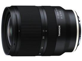 タムロン TAMRON 17-28mm F/2.8 Di III RXD(Model A046) [ソニーEマウント 35mmフルサイズ対応]