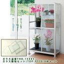 【限定5台】ハーベスト 小型温室 FHB-1508S ピカコーポレイション + ガラス棚板セット(TOP-PT30)4枚セット