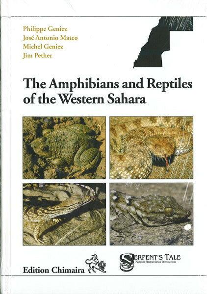 The Amphibians And Reptiles Of The Western Sahara ・ アフリカ西サハラの両生類・爬虫類図鑑 ECOユニバース(エコユニバース)