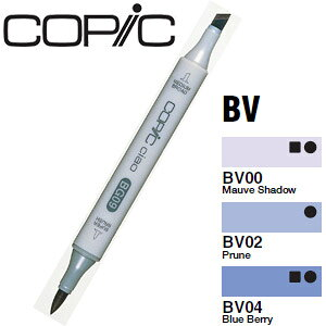 Too コピックチャオ BV:Blue Violet(青紫)系【デザイン/イラスト/まんが/絵画/教材】【店頭受取対応商品】