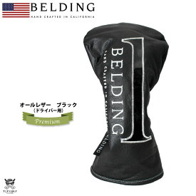 BELDING ベルディング ヘッドカバー ドライバー サーカ プレミアム DR(1) ブラック(HBHC-000026)