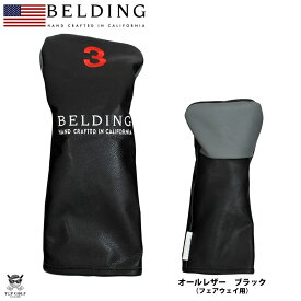 BELDING ベルディング ヘッドカバー フェアウェイ サーカ FW(3)ブラック(HBHC-000014)