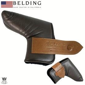 BELDING ベルディング ヘッドカバー パター ザ・ラップ パターカバー ダークブラウン(HBPR-000013)
