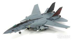 F-14A トムキャット アメリカ海軍 第154戦闘飛行隊「Black Nights」 2003年 NF100 1/200GULLIVER200/ガリバー200飛行機/模型/完成品 [WA22072]