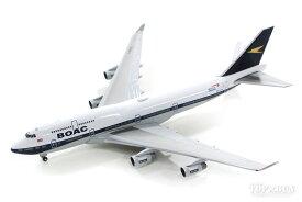 ボーイング 747-400 ブリティッシュエアウェイズ 特別塗装 「BOAC復刻レトロ」 19年 G-BYGC 1/500 2019年12月28日発売herpa/ヘルパウィングス飛行機/模型/完成品 [533317]