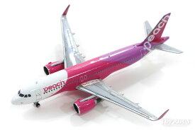 エアバス A320SL(シャークレット) ピーチ・アビエーション JA824P 1/400 ※金属製 2020年8月3日発売 GeminiJets/ジェミニジェッツ飛行機/模型/完成品 [MM40006]