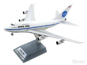 ボーイング 747SP パンアメリカン航空 70-80年代 スタンド付属・ポリッシュ仕上 N532PA 1/200 ※金属製 2020年9月11日発売 InFlight200/インフライト200飛行機/模型/完成品 [IF747SPPA0420P]