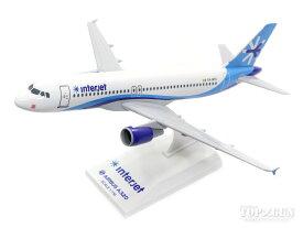 A320 インタージェット XA-MTO (ギアなし/スタンド付属) 1/150 ※プラ製 2017年9月21日発売 Skymarks/スカイマークス 飛行機/模型/完成品 [SKR811]