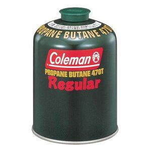 コールマン ガスカートリッジ 純正LPガス燃料 Tタイプ レギュラー 470g 5103A470T